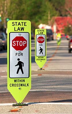 LINK: Improved crosswalk signage
