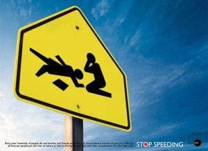 stop-speeding-signage