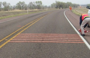 temporary rumble strips